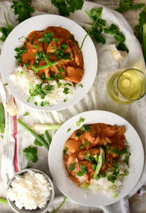 easy crock pot butter chicken