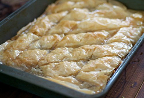 Best homemade baklava