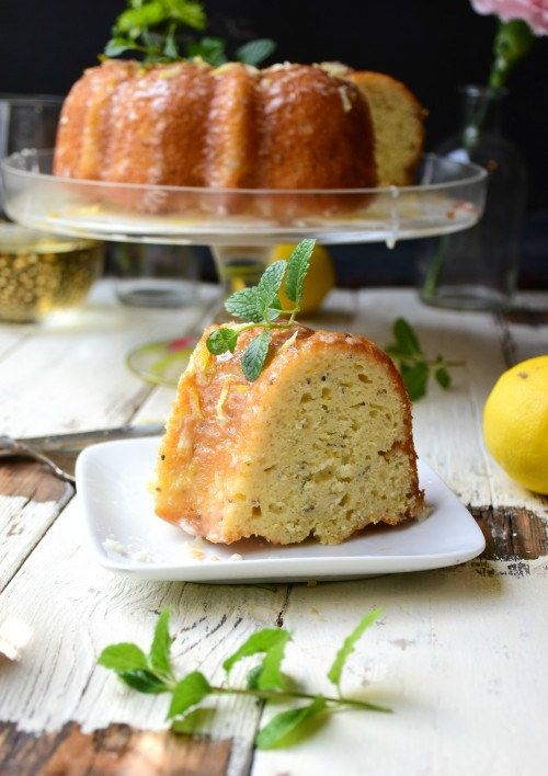 lemon chia bundt cake