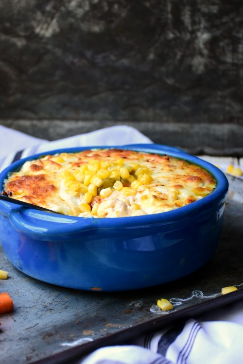 spicy cheesy corn dip