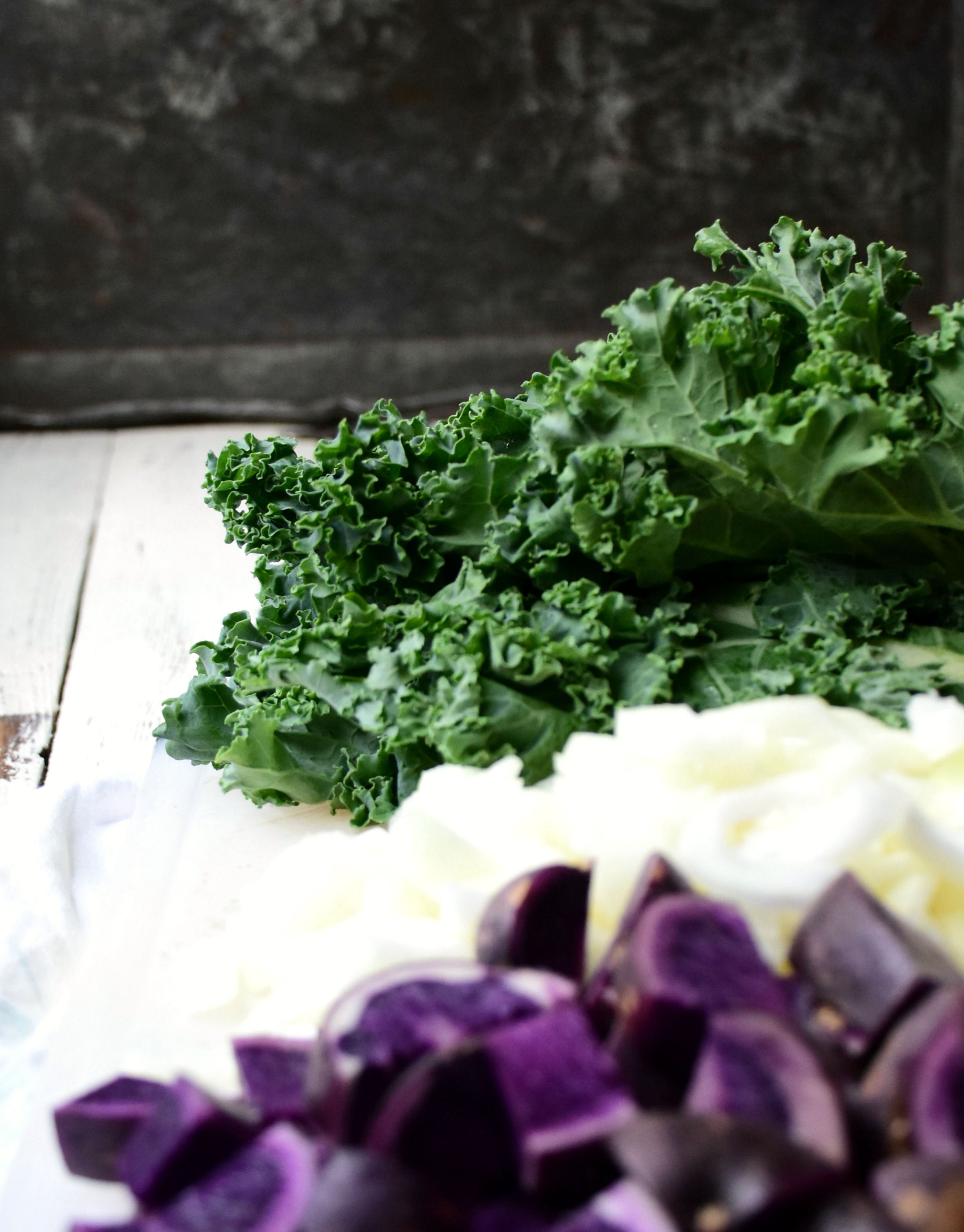 Blue apron kale - Beyond The Ingredients Which I Proudly Photographed Like A Fool With My Studio Window Open The Neighbors Staring In With The Ut Most Confusion